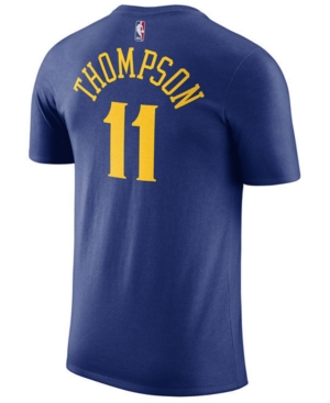 Nike Men's Klay Thompson Golden State Warriors Name & Number Player T-Shirt