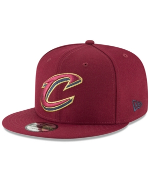 New Era Cleveland Cavaliers Team Metallic 9FIFTY Snapback Cap