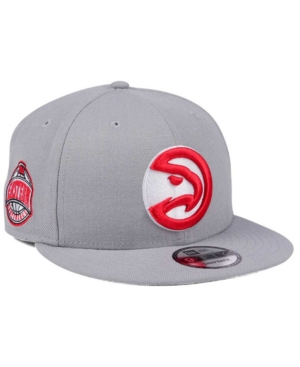 New Era Atlanta Hawks Gray Pop 9FIFTY Snapback Cap