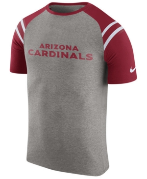 Nike Men's Arizona Cardinals Enzyme Shoulder Stripe T-Shirt