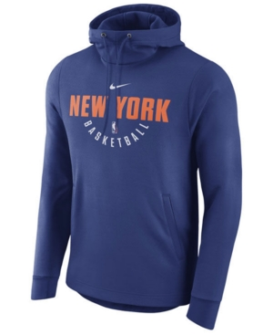 Nike Men's New York Knicks Practice Therma Hoodie